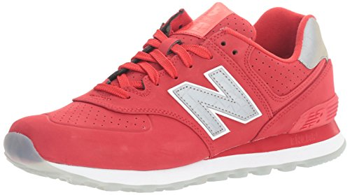 new-balance-mens-574-classic-traditionnels-grey-red-synthetic-trainers-465-eu