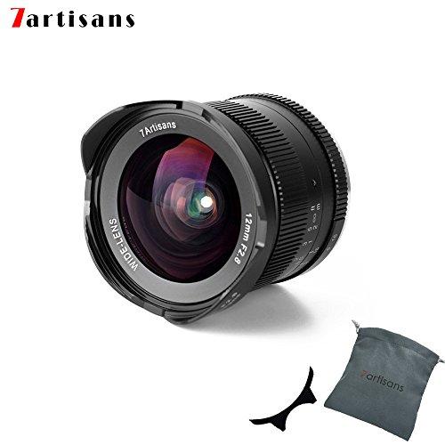 7Artisans 12 mm F2.8 APS-C Grand Angle Objectif Fixe Manuelle pour M4/3 Mont appareils Photo Panasonic G1 G2 G3 G4 G5 G6 G7 GF1 GF2 GF3 GF5 GF6 GM1 Olympus Emp1 Epm2 E-PL1 E-PL2 E-PL3 E-PL5