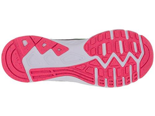 Nike Wmns Air Relentless 5, Scarpe sportive, Donna Cl Grey/Vltg Grn/Blk/Hypr Pnk