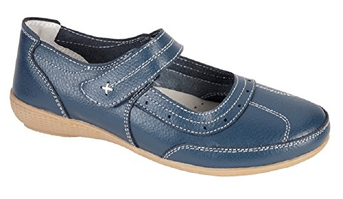 Shoe Tree Comfort , Mary Jane femme Bleu Marine