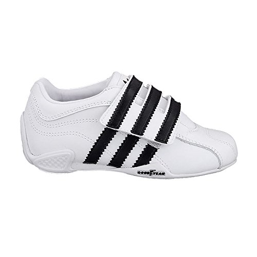 adidas Adi Racer Trefoil Kids G04312 Jungen Sneakers/Freizeitschuhe/Kinderschuhe Weiß 23,5