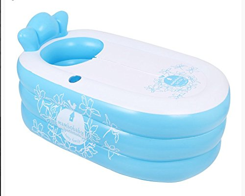 CLG-FLY Nach aufblasbare Badewanne Badewanne pool dicke Kunststoff faltbare Badewanne barrel Dusche, Grün
