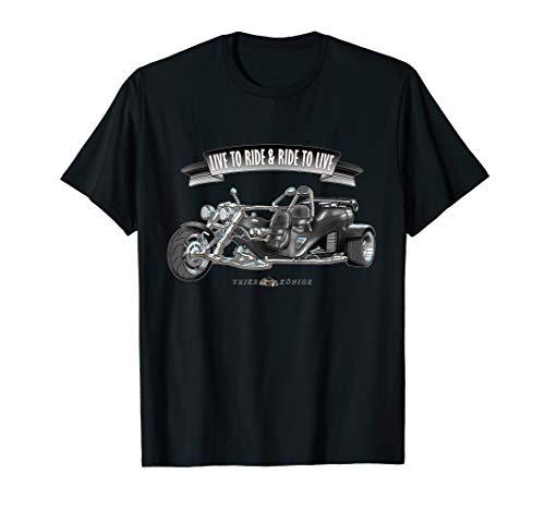 Ride to Live! Trike Shirt Geschenk