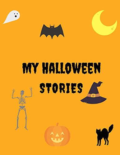 : 8.5 x 11 Kids Journal: 25 pages of Halloween images for kids to write stories to. Lined Journal, Halloween Books for Kids. Ages 4+ (Halloween-cool Stuff)