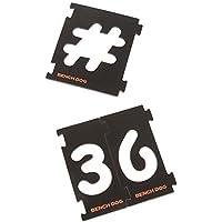 Benchdog 237890 - Plantilla/guía de taladro y corte (tamaño: 31-Piece, pack de 31)
