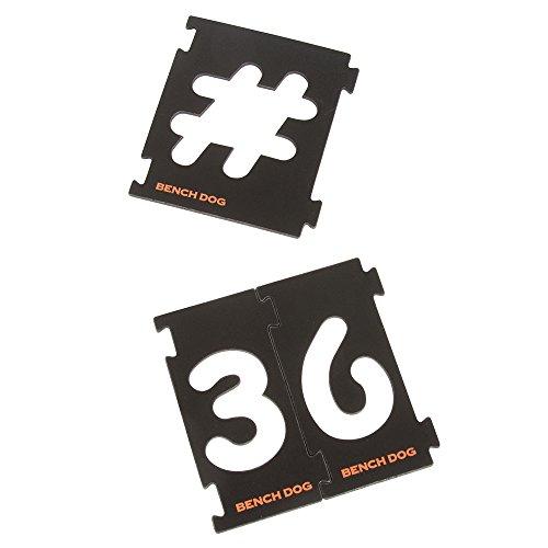 Benchdog 237890 - Plantilla/guía taladro corte tamaño: