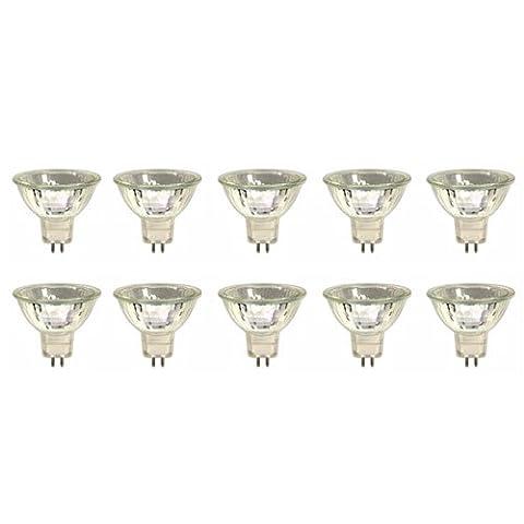Ampoule Dichroique - 10 x GU5.3 Ampoule Halogène Dichroïque MR16,