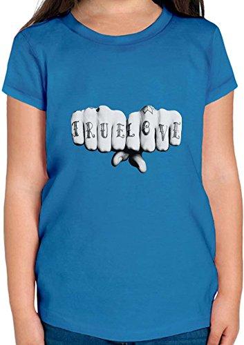 True Love Inked Tattoo T-shirt per ragazze 12+ yrs