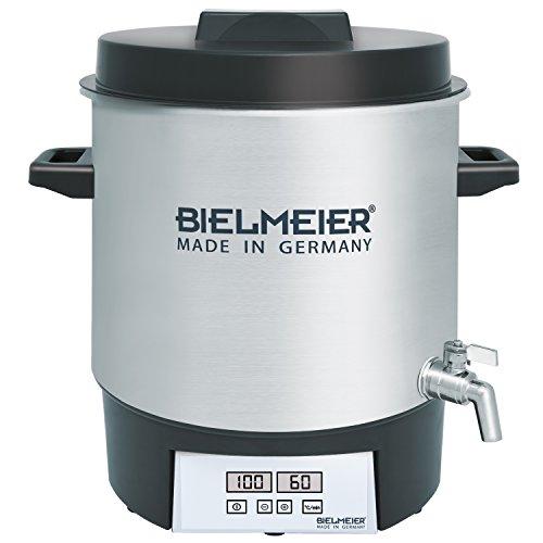 41puZHZPc5L. SS500  - Bielmeier BHG 411.1 Automatic Preserving Cooker with Tap, 1800 W