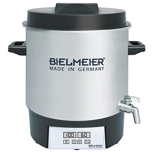 Bielmeier BHG 411.1 Automatic Preserving Cooker with Tap, 1800 W