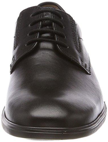 Fretz Homme Ragusa, Chaussures À Lacets Derby Homme Noir