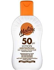 Malibu Very High Sun Protection Lotion SPF50 UVA UVB Sunscreen 200 ml