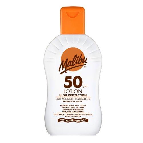 Malibu Very High Sun Protection Lotion SPF50 UVA UVB Sunscreen 200 ml -