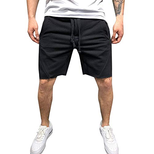 Dockers Washed Chino (Aiserkly Herren Sommer Kanten Fitness Sport Casual Shorts Jogging Hosen Freizeithose Drawstring Bequeme Stoffhose)