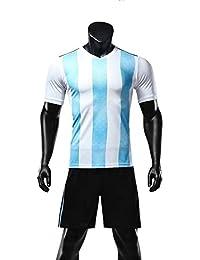 GDSQ Fanáticos De La Camiseta 2018 De La Camiseta del Mundial Jerseis De La Camiseta Argentina