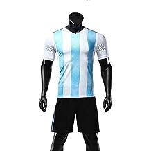 GDSQ Versión De Ventiladores De La Copa Mundial 2018 Camiseta De Argentina Camiseta Corta De Uniforme