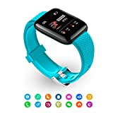 Bweele Orologio da Polso Fitness con cardiofrequenzimetro Fitness Tracker...