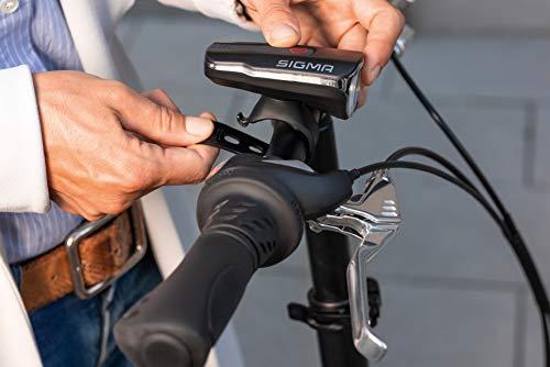 Sigma Sport Aura 60 Usb Fahrrad Beleuchtungs-set, Schwarz-rot, One Size