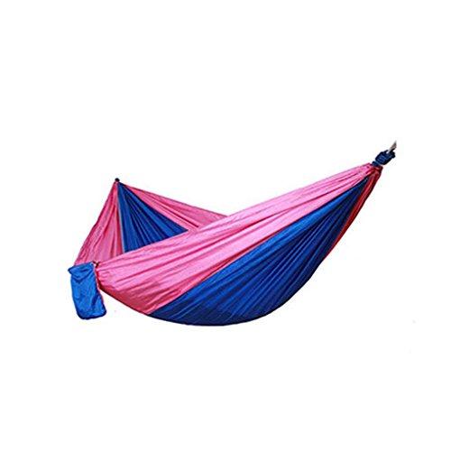 High Strength Parachute Stoff H?ngematte Double Wide Outdoor-Camping ¨¹berleben Strand Yard Schaukel h?ngendes Bett Schlafen Coco -