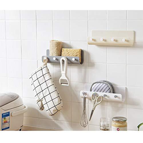 Küche Regal Dusche Duschregal Ecke Selbstklebendes Ablage Korb für Badezimmer Laden Sie 5kg(3er Set),beige