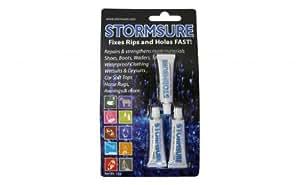 Stormsure Black Flexible Repair Adhesive 3 x 5g Tubes
