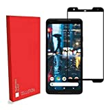 CELLUTION Google Pixel 2 XL Full Coverage 5D Tempered Glass, Full Edge-to-Edge 5D