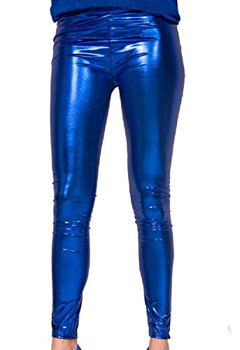 Folat 61718 - Leggings, S/M, blau (Bad Sexy Halloween Kostüme)