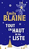 Tout en haut de ma liste de Emily Blaine