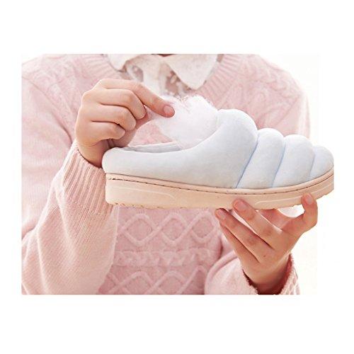 Modello Acqua Memory Invernale Morbida Con Casa Cotone Impermeabile Coperta Slittamento 1 Pantofole Calda Di Foam Dww Calzatura Pantofole Traspirante IqvnT67v
