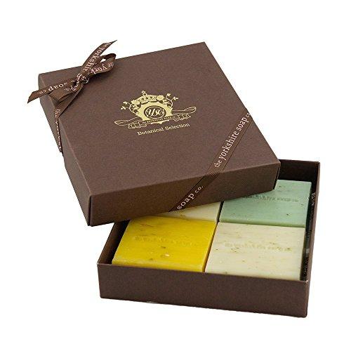 fresh-fruity-handmade-botanical-soap-bar-gift-box-4-x-100g-natural-ingredients-made-in-yorkshire-sen