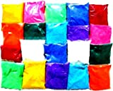 Shree Seller's Set of 10 pkts Design Creativity Diwali Floor Rangoli Art Colors 500gm|Multicolour, Rangoli Color Powder.