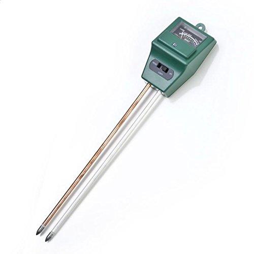 Veewon 3 en 1 Ph du sol Testeur Humidimètre avec lumière de fonction Jauge Test PH pour Test PH Acidité, l'humidité et de lumière du soleil pour le jardinage, l'Agriculture, pas de batterie nécessaire