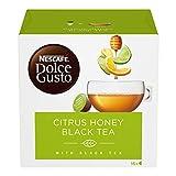 NESCAFÉ DOLCE GUSTO Citrus Honey Black Tea Tè al Gusto di Agrumi Miele e Zenzero, 3 Confezioni da 16 Capsule (48 Capsule)