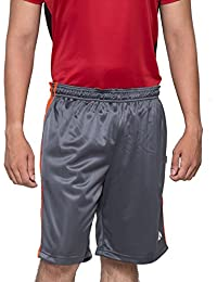 Acetone Solid Men's Running Shorts(USH2_Grey_28)