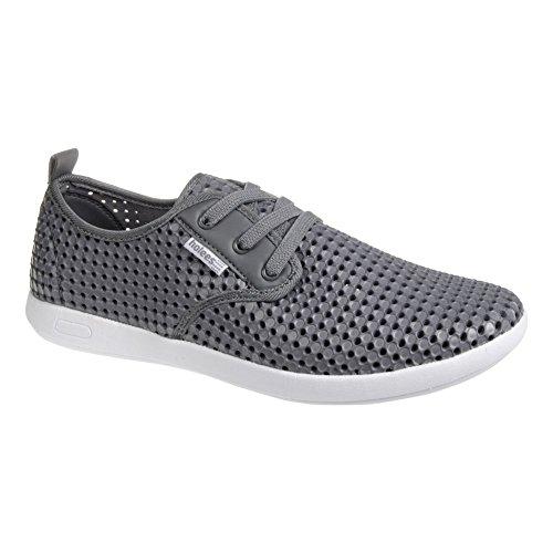 holees plimp Herren Memory Foam leicht Schlupfhalsband plimpsole Schuhe, verschiedene Farben und Größen zur Auswahl Grau