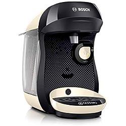 Bosch Electroménager Tassimo Happy TAS1007 Machine à boissons chaudes, 1400 W, 0.7 litre, Crème