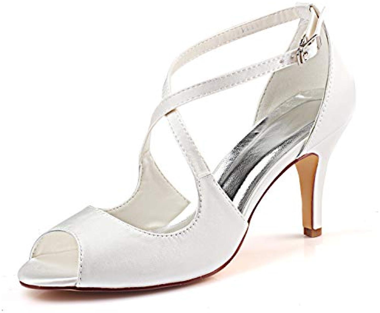 Emily Bridal Chaussures de Mariage Croix  s s  à Talons HautsB07JLZ2191Parent 95d076