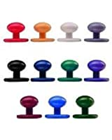 Harrogate Chef Shop Denny's Coloured Chef Jacket Stud Buttons (Pack of 12)