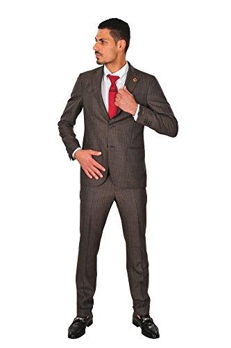 lardini-anzug-herren-braun-blazer-hose-braun-48r-regular-fit