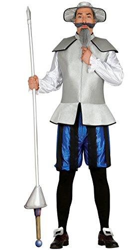 Kostüm für Herren Mandarin Chinese Karneval Fasching Party China Gr. M/L , Größe:L (Mandarin Kostüm)