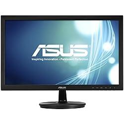 """ASUS VS228NE - Ecran PC 21,5"""" FHD - Dalle TN - 16:9 - 60Hz - 5ms - 1920x1080 - 200cd/m² - DVI & VGA - Flicker Free"""