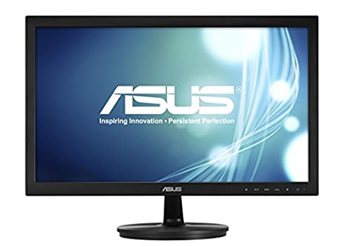 ASUS VS228DE Widescreen Full HD LED Monitor (1920 x 1080, 1080p, 5 ms, VGA) - 21.5 inch, Black