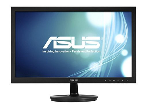 ASUS VS228DE Widescreen Full HD LED Monitor (1920 x 1080, 1080p, 5 ms, VGA) - 21.5 inch, Black