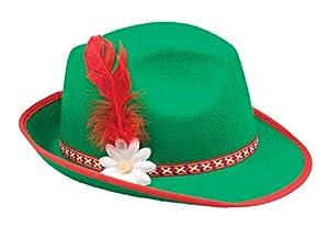 Boland 04034 - sombrero adulto Tirol, tamaño de la unidad, verde
