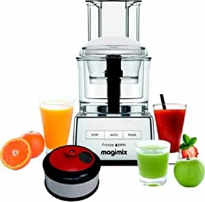 Robot multifonction MAGIMIX 85417F 4200 CH BRILLANT + COFFRET SMOOTH