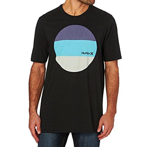 Hurley T-shirts - Hurley Circular Block T-Shirt... Black