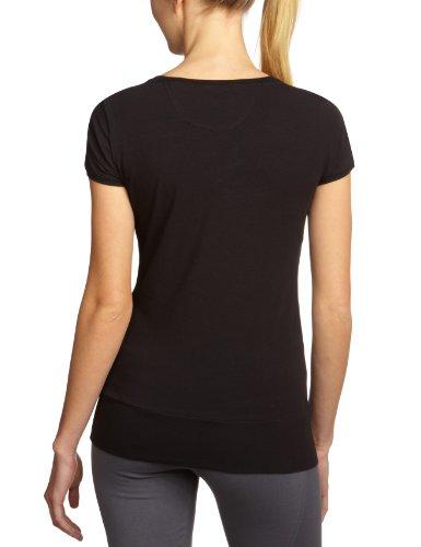 Champion t-shirt à col rond pour femme - 105989 Noir - noir