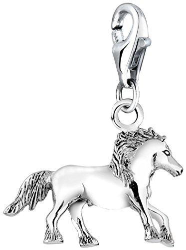 Nenalina Charm Pferd Anhänger in 925 Sterling Silber für alle gängigen Charmträger 713072-000