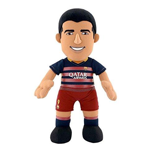 new product 1a203 b3c18 Bleacher Creatures BC10REPLLS/BAR 10-Inch FC Barcelona Luis Suarez Plush  Figure