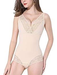 Femme Body Gainant Gaine Amincissante Ventre Plat Invisible Body Sculptant Lingerie  Sculptante Minceur Body Shaper bf2fce14a6b